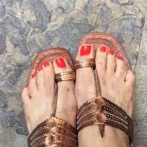 Leather handmade Sandals!